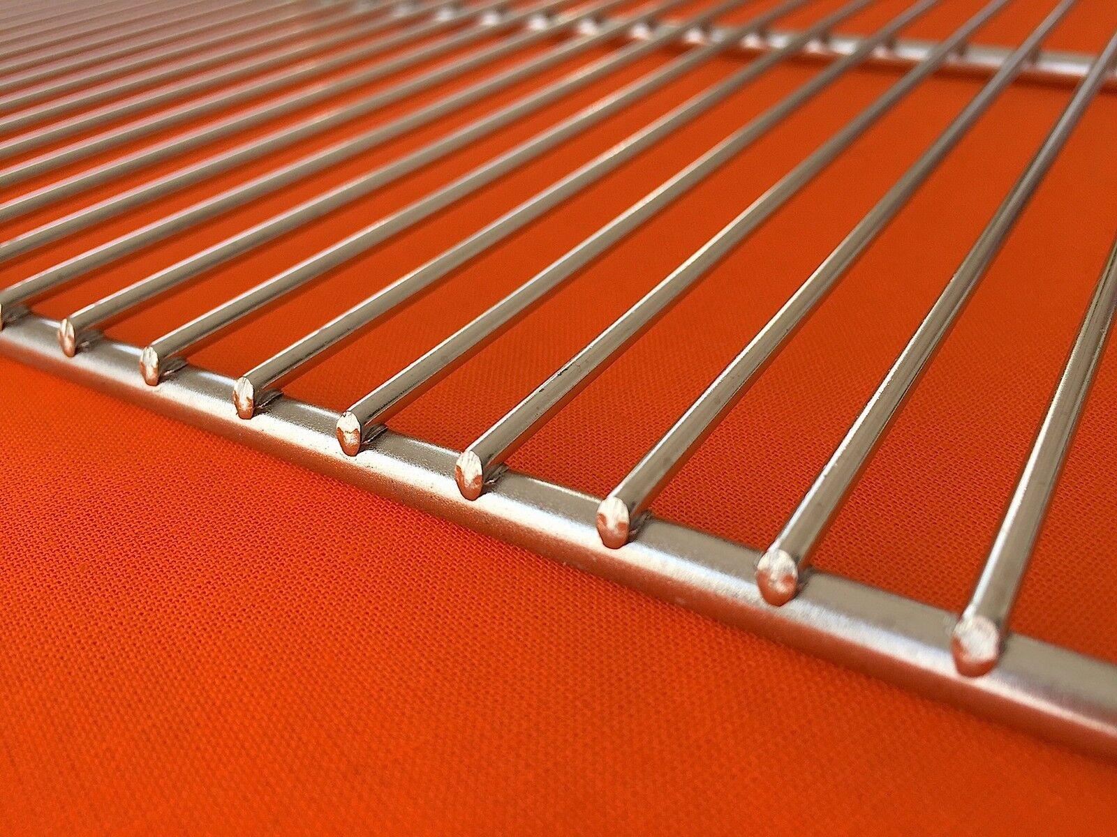 GRILLROST EDELSTAHL 67x40cm EDELSTAHLGRILLROST  GRILLGITTER  *ROBUST*