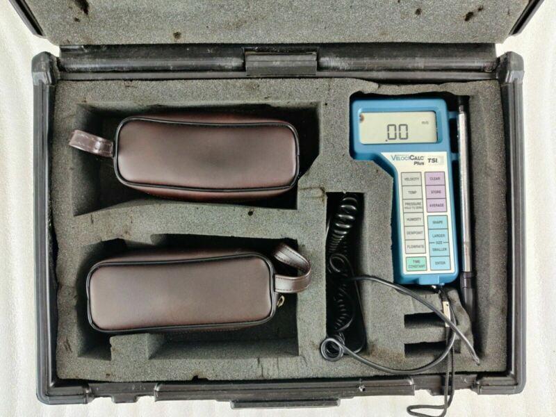 TSI VelociCalc Plus 8360M-GB Air Multi Parameter Ventilation Meter System Probe