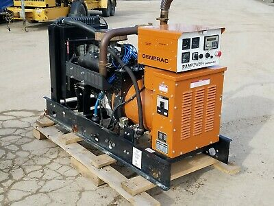 Generac 35kw Lpg Single Phase 120240 Vac Standby Generator Set W Auto Transfer