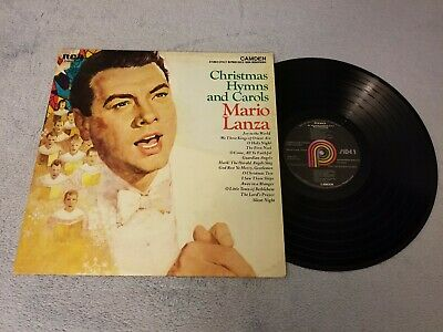 Mario Lanza / Christmas Hymns and Carols - Vinyl LP Album Record -
