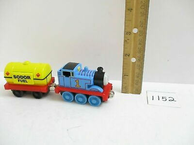 Take Along N Play Lot Sodor Fuel Tanker Car & Thomas Train Engine Diecast Set