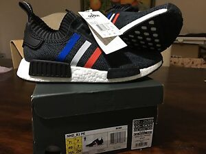 Brand new dead stock Adidas NMD R1 PK Tricolour Black in US7.5 Hillsdale Botany Bay Area Preview