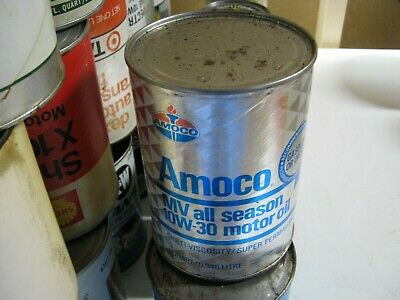 VINTAGE OIL CAN COLLECTION SELL OUT FREE SHIPPING Amoco