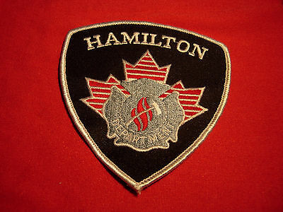 Hamilton Canada Fire Department Patch