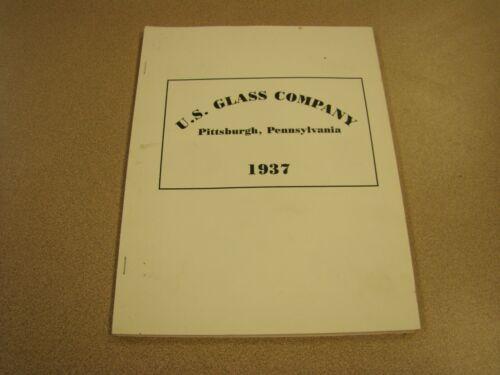 United States U.S. Glass Co. / Scarce 1937 Catalog Reprint