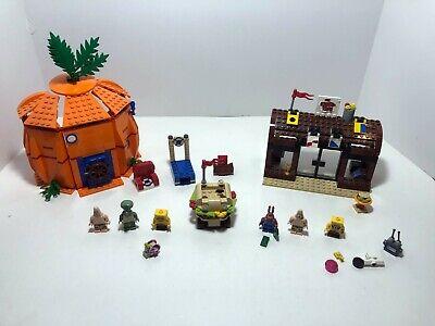 LEGO SpongeBob: Good Neighbors at Bikini Bottm 3834 + Krusty Krab Adventur 3833