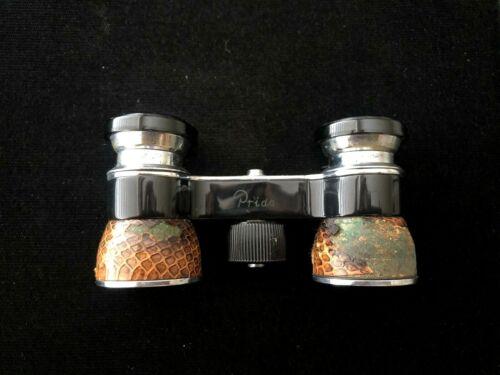 Vintage TOKO Pride 2.5x Opera Glasses Binoculars W/Leather Case