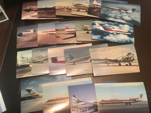 Frontier Airlines 20 piece postcard set