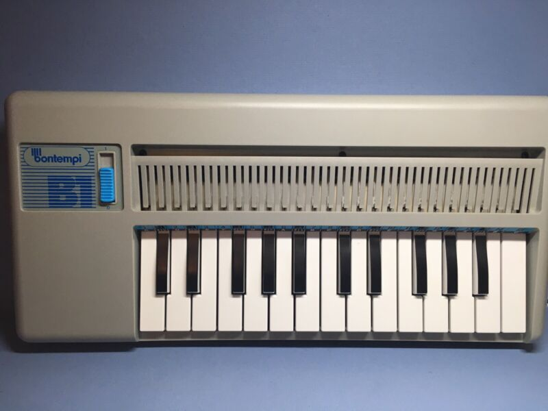 Vintage Rare Bontempi B1 Organ Keyboard w Batteries Tested & Working