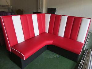 Retro furniture 50s american diner corner booths 50s home decor uk