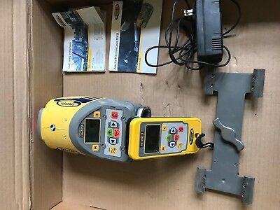 Spectra Precision Dg613 Red Beam Pipe Laser Dialgradetrimble Rc803 Remote