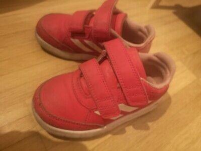 ** ADIDAS Baby Kinder Schuhe Turnschuhe Rot Hell Gr. 25,5 ** online kaufen