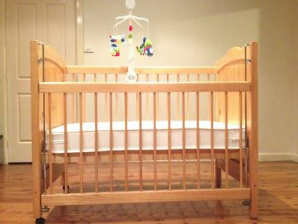 For SaleBaby Cot (Australiana Heirloom Collection) with Mattress Panania Bankstown Area Preview