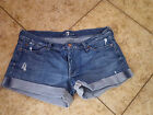 7 for All Mankind Women's Denim Casual Shorts