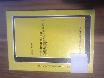 Unterricht, D. Raufuß, Physiokalisch naturwissenschaftliche Denkweise  1989  rar
