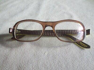Kirk Originals brown / green glasses frames. Joni.