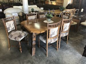 7 Piece Timber Dining Suite Wangara Wanneroo Area Preview