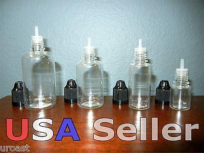 5ml 15ml 30ml 50ml Plastic Juice Dropper Bottles Eye Liquid Dropper Pet E