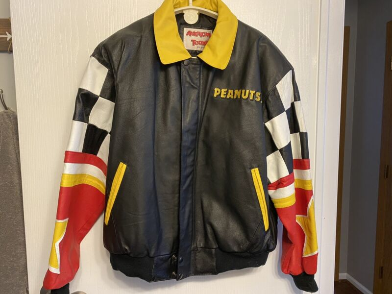 Snoopy Leather Jacket