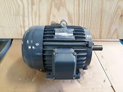 Teco 5hp 3 Phase Electric Motor Np0054 1745 Rpm 1-18 Shaft - Hazardous  S39