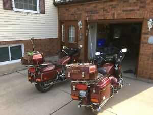 2 x 1983 Goldwing Aspencades with trailer!!!!