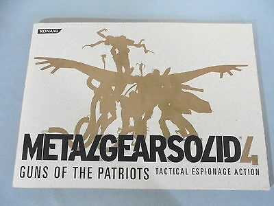 Rare TOKYO GAME SHOW 2007 METAL GEAR SOLID 4 TGS PAMPHLET