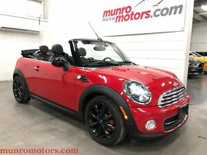 2015 Mini Convertible Cooper Leather Automatic Low Kms