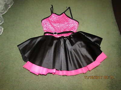 50s Car Hop  Costume- Girl size - Car Hop Costume