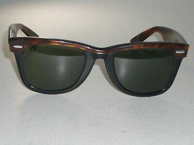 50MM VINTAGE B&L RAY-BAN USA MULTI-COLOR G15 UV WAYFARER SUNGLASSES (Multi Colored Wayfarer Sunglasses)
