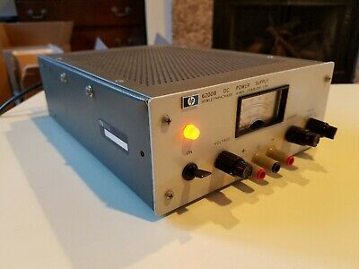 Hp Agilent 6200b Dc Power Supply 0-40v.75a0-20v1.5a. Tested. Working.
