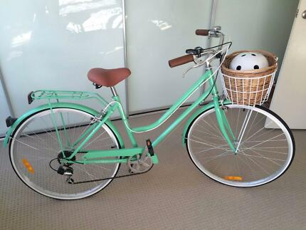 Vintage Ladies 7-Speed Classic - Mint Green Stanmore Marrickville Area Preview