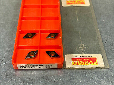 Genuine Sandvik Dcmt 21.51-pm 4225 Carbide Insert Pack Of 4