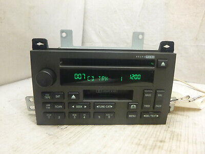 05-11 Lincoln Town Car Sound Mark Radio Cd Cassette 5W1T-18C868-AF B632