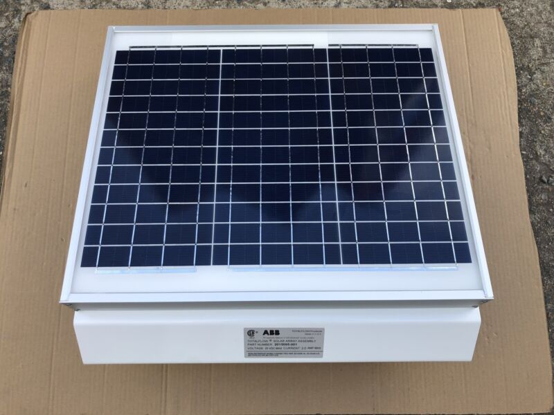 ABB TotalFlow Solar Array Assy 20 Watt 15 FT Div 2 - NEW! - Part # 2015095-001