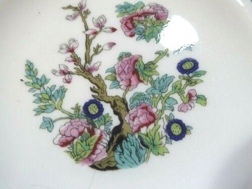 6+Jason+Works+Nanrich+Fine+Bone+China+Staffordshire+Indian+Tree+Side+Plates+New