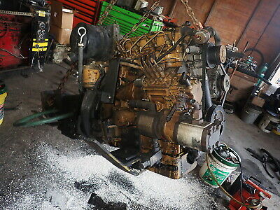 Caterpillar C2.2 Diesel Engine Runs Exc. Video Cat Perkins Shibaura 2.2 3024