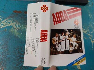 ABBA SPS 9269 DBX Systems & mono music Cassette 1973-1979 Hits Fernando