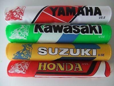 NEW HONDA KAWASAKI SUZUKI <em>YAMAHA</em> MOTORCYCLE HANDLEBAR BAR PAD 10 INCH