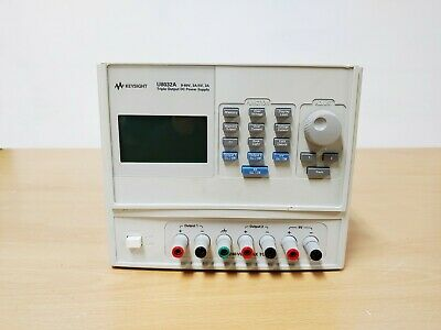 Agilent Keysight U8032a Triple Output Dc Power Supply For Parts