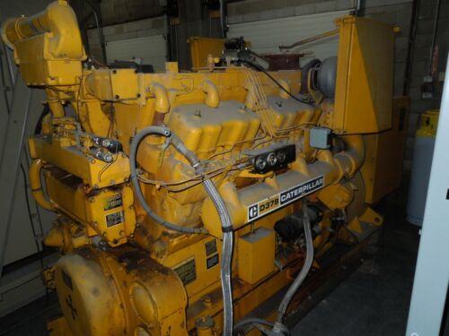 Caterpillar D379 Standby Generator 450KW 563KVA 125/216V x 230V x 460V Used