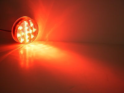"""Maxxima Red M11300R 2 1/2"""" Clearance Marker 13 LED Light Truck Trailer"""