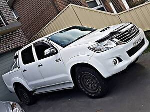 2013 Upgraded Toyota Hilux SR5 T/D - Fully Optioned - Gr8 Cond Quakers Hill Blacktown Area Preview