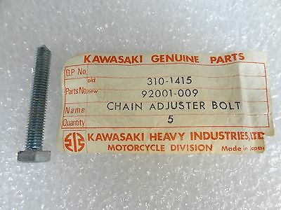 Kawasaki NOS NEW 92001-009 Chain Adjuster Bolt A1 A7 F3 F4 A1SS A7SS 1967-71