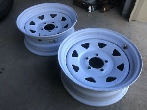 15 x 7 Trailer Wheels