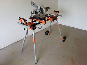 PORTAMATE PM5000 FOLDING MITRE SAW STAND - As new - never used! Varsity Lakes Gold Coast South Preview