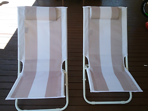 Beach chairs Golden Bay Rockingham Area Preview