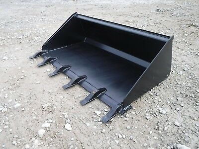 Toro Dingo Mini Skid Steer Attachment 48 Low Profile Tooth Bucket - Ship 149