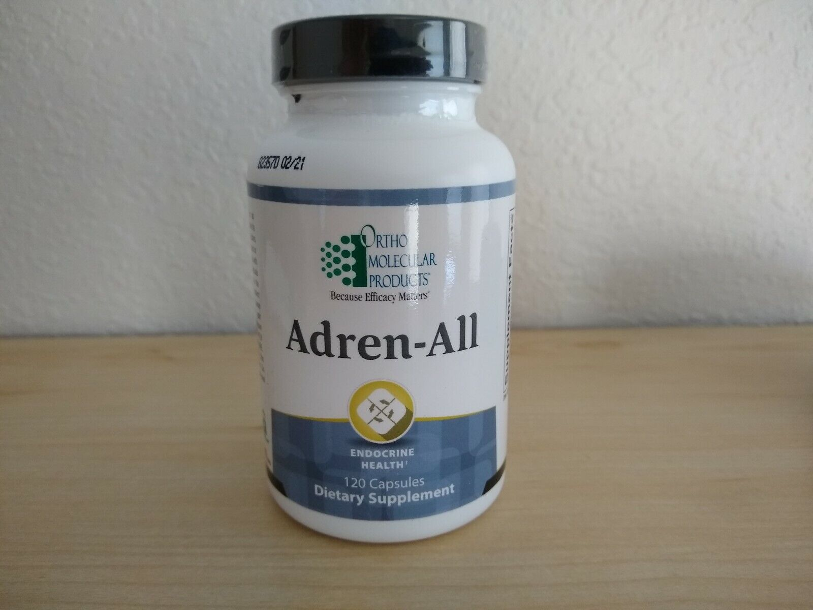 Ortho Molecular Adren-All 120 Caps