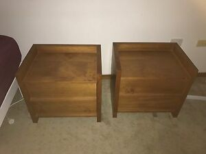 Bed side tables Berowra Heights Hornsby Area Preview