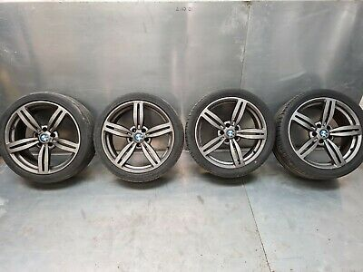 BMW 5 6 M6 SERIES E63 E64 SET OF ALLOY WHEELS & TYRES 245/40/R19